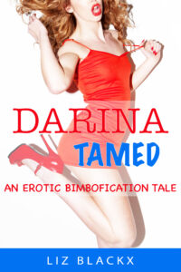 Cover image of 'Darina Tamed - an Erotic Bimbofication Tale' by Liz BlackX