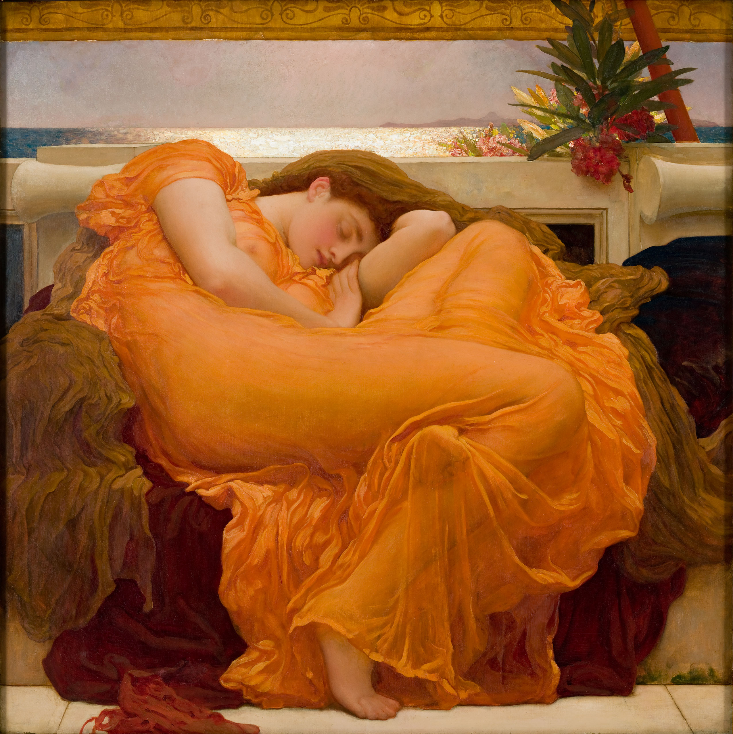 Flaming June – The One Painting That Struck Me Emotionally